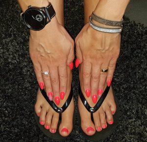 Gel polish op handen en tenen