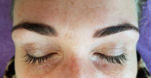 Henna wenkbrauwen